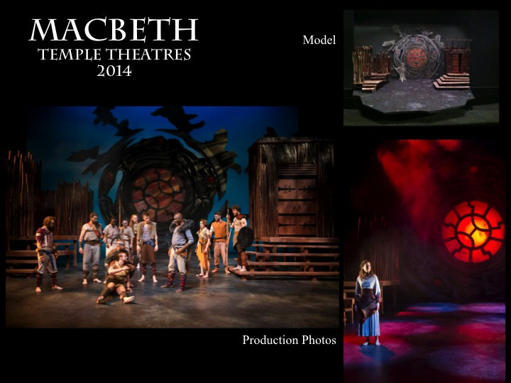 Macbeth Scenic Design